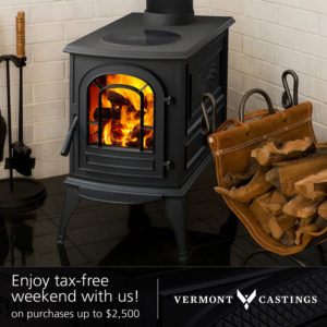 tax free sale on fireplaces