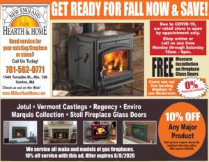 fall savings flyer